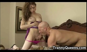 Shafting the Tranny Babysitter!