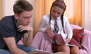Anal Fuck is just the apt play the part be advantageous to Scalding Schoolgirl