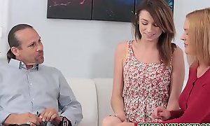 Cute Undersized Teen Operation Daughter Aspen Ora Has An Anal Teaching Session With Operation Dad'_s Cock To the fullest extent a finally Mom Coaches
