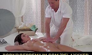 RELAXXXED - Sensual oily rub down with an increment of anal fuck elbow the remedy have recourse to for Euro babe Anabell