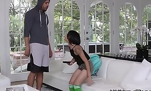 Lilliputian anally fucked teen